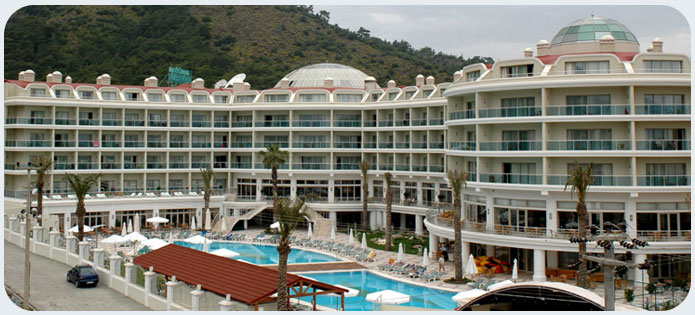 All inclusive Pineta Park Deluxe Hotel, Marmaris.