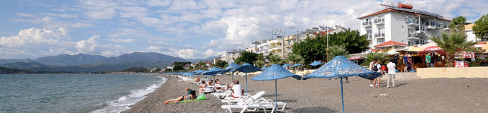 All inclusive holidays to Fethiye Beach