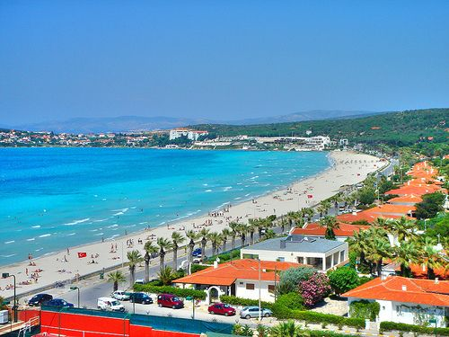 Turkey beach holidays-Ilica Cesme