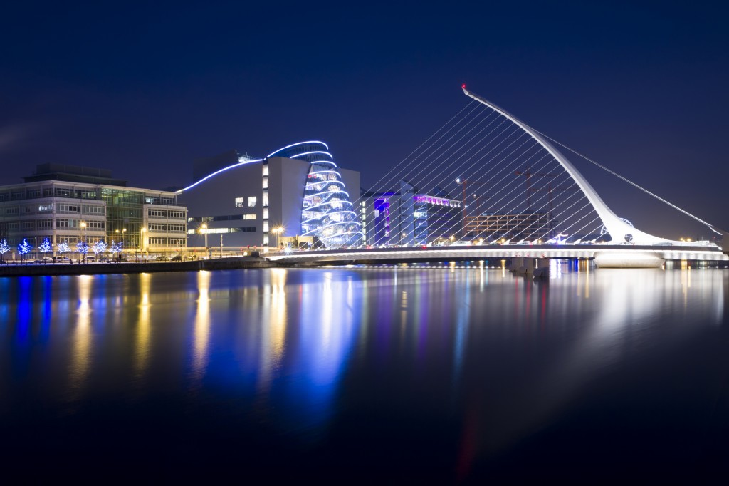 Dublin City Guide Samuel Beckett Bridge
